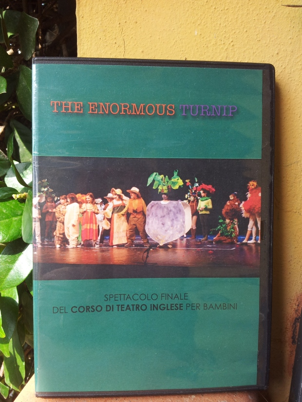 Teatro Inglese Per Bambini DVD The Enormous Turnip