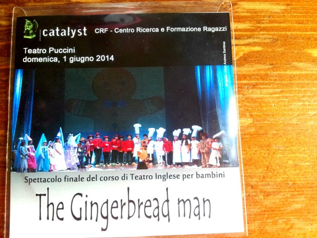 DVD Gingerbread Man 2014