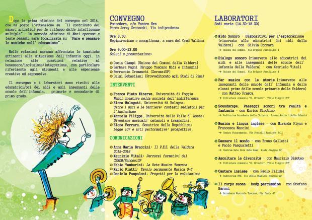 Convegno per Insegnanti Pontedera Novembre 2015